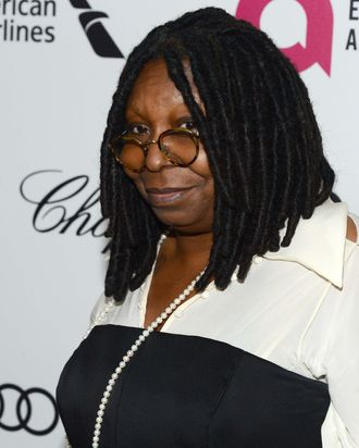 Actress Whoopi Goldberg attends the 22nd Annual Elton John AIDS Foundation's Oscar Viewing Party on March 2, 2014 in Los Angeles, California.