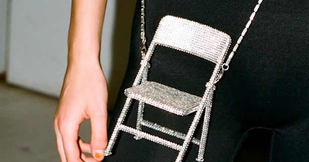 You Can Actually Buy The Area Crystal Chair Bag