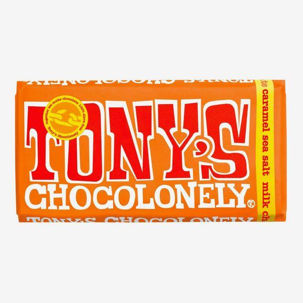 Tony's Chocolonely Milk Caramel Sea Salt 32%