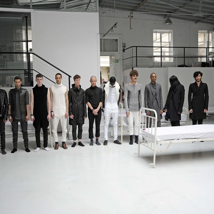 Models at the Y Project by Yohan Serfaty.