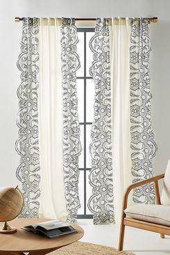 Embroidered Dedhia Curtain