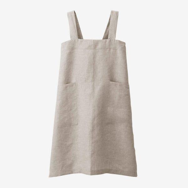 Muji Hemp Plain Weave Cook's Apron