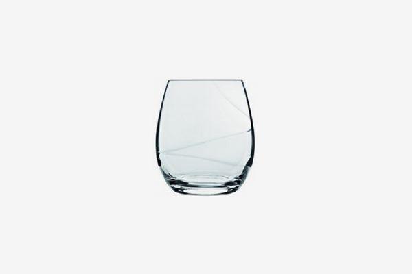 Luigi Bormioli Aero Stemless Wine Glass