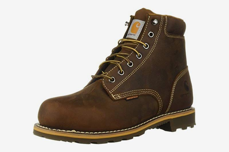 Carhartt Men's 6 Inch Plain Lug Bottom Soft Toe Industrial Boot