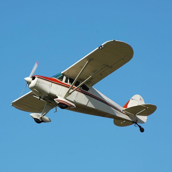 White plane.