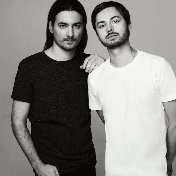 Alexis Martial and Adrien Caillaudaud.