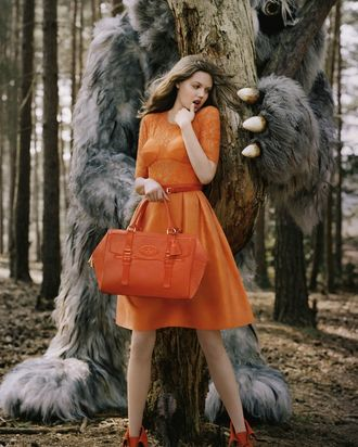 Lindsey Wixson for Mulberry.