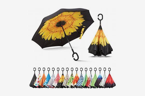 Sharpty Inverted Umbrella with C-Shaped Handle