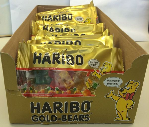 Haribo Gold-Bears, 2-Ounce Packages (Pack of 24)