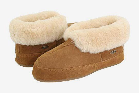 Acorn Men's Sheepskin Bootie II Slippers