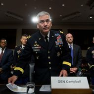 General John Campbell Testifies On Situation In Afghanistan To Senate Armed Services Committee