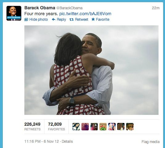 6 obamatweet.nocrop.w536.h2147483647 obama also won election night memes,Day After Election Meme