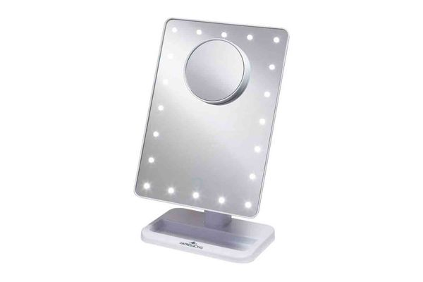Touch XL Dimmable LED Makeup Mirror With Removable 5x Mirror