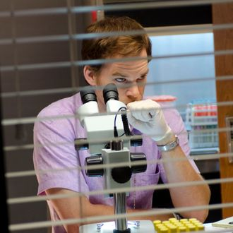 Michael C. Hall as Dexter Morgan (Season 7, episode 4).