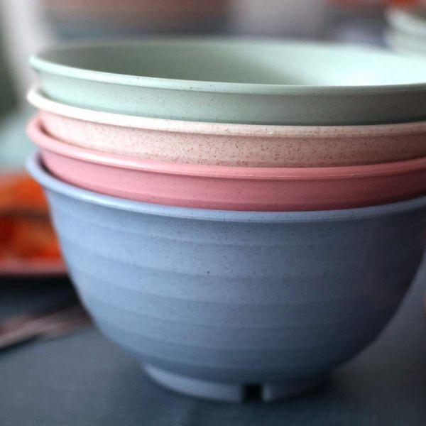 Greenandlife Unbreakable Large Cereal Bowls
