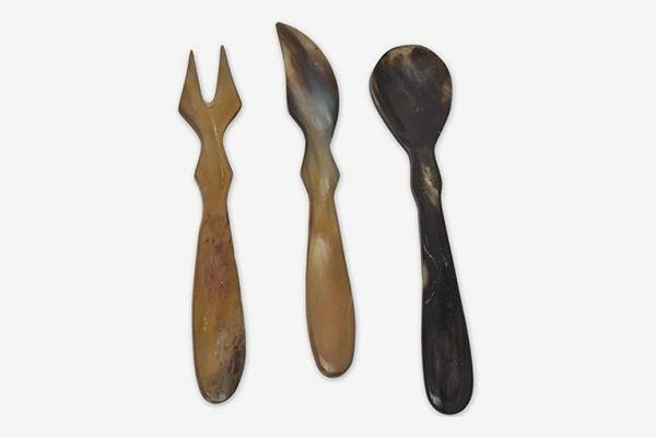 Horn Cutlery Set