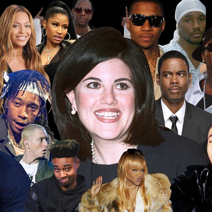 Every Rap Song That Mentions Monica Lewinsky