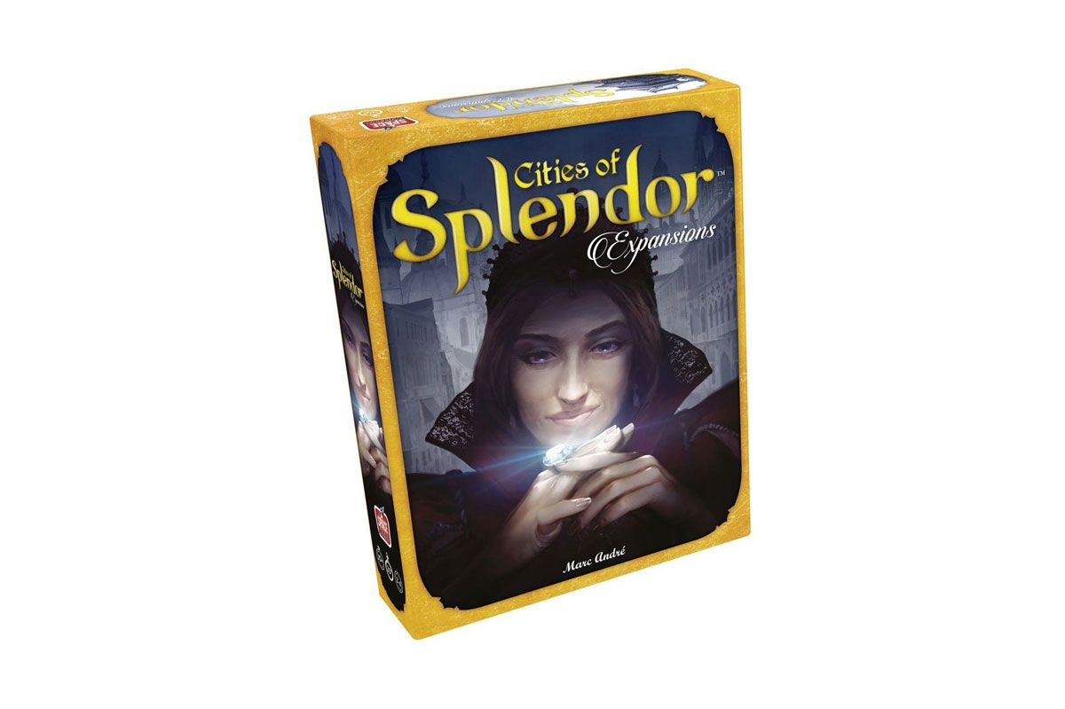 Cities of Splendor (expansion to Splendor)
