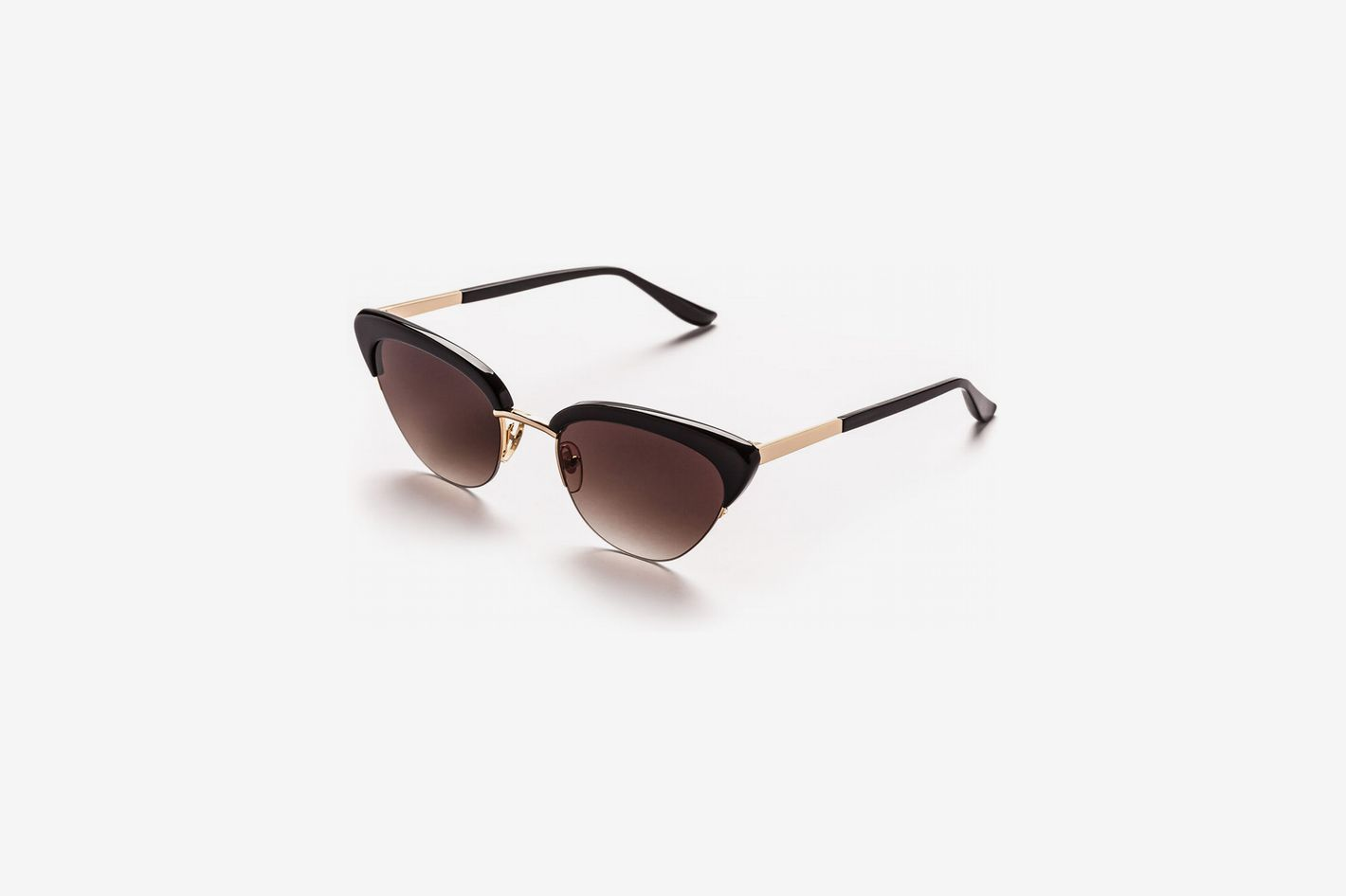 Sunday Somewhere Pixie Acetate & Metal Cat-Eye Sunglasses