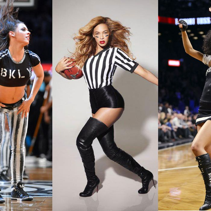 Beyonce and Brooklynettes.