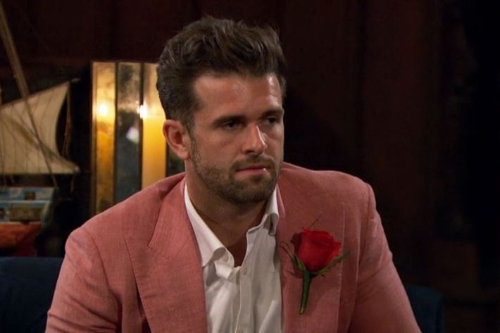 The Bachelorette Has Turned Into The Brotherhood of the Traveling Salmon Jacket