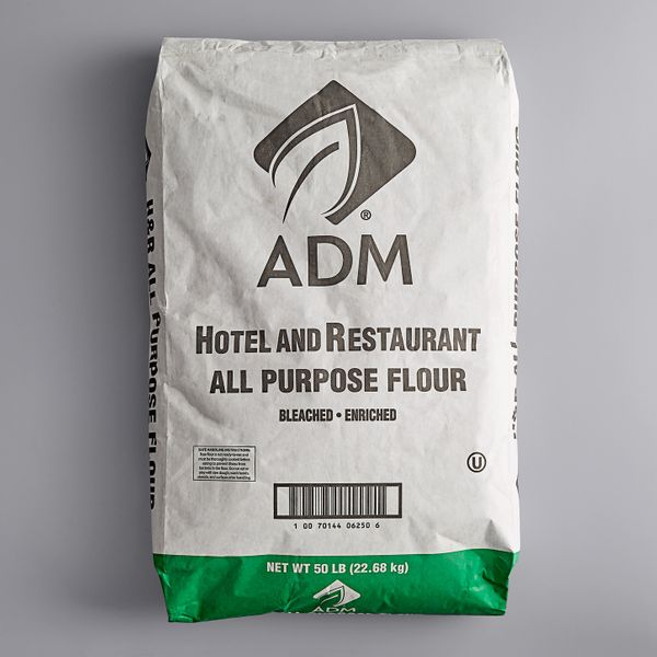 ADM Hotel and Restaurant All Purpose Flour, 50 Pounds