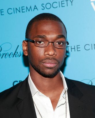 NEW YORK, NY - JUNE 05: Actor Jay Pharoah attends The Cinema Society & Brooks Brothers with Grey Goose screening of