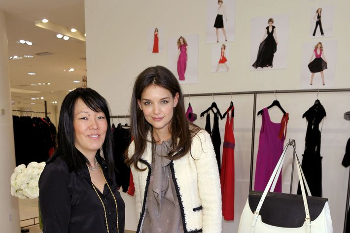 Jeanne Yang and Katie Holmes.
