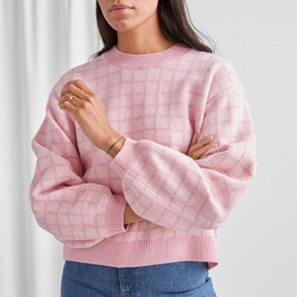& Other Stories Relaxed Knit Sweater
