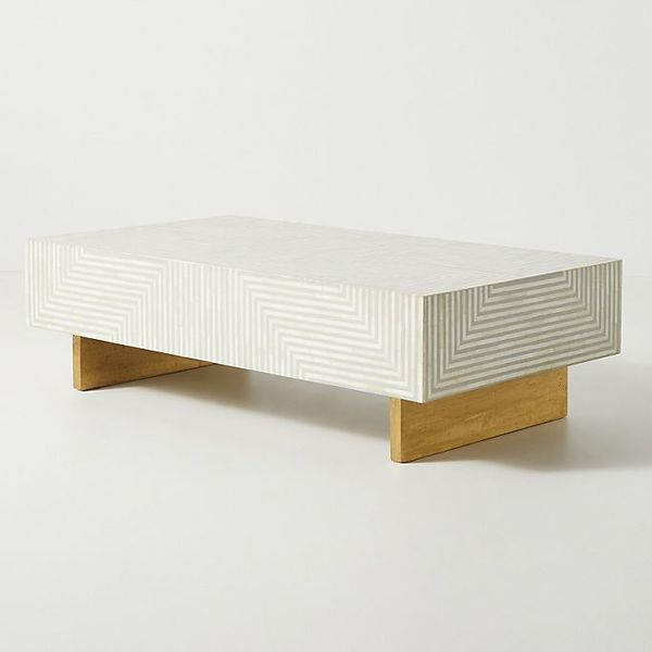 Savi Striped Inlay Coffee Table