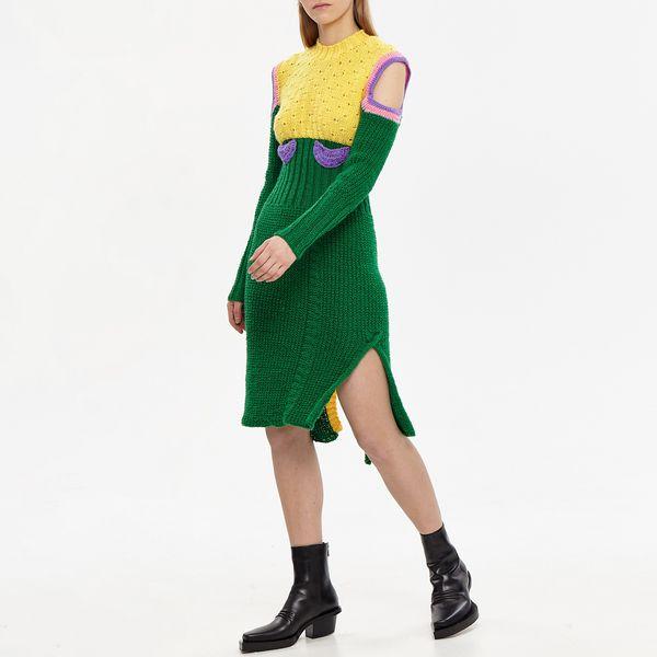 Vereja Midi Off-shoulder Dress