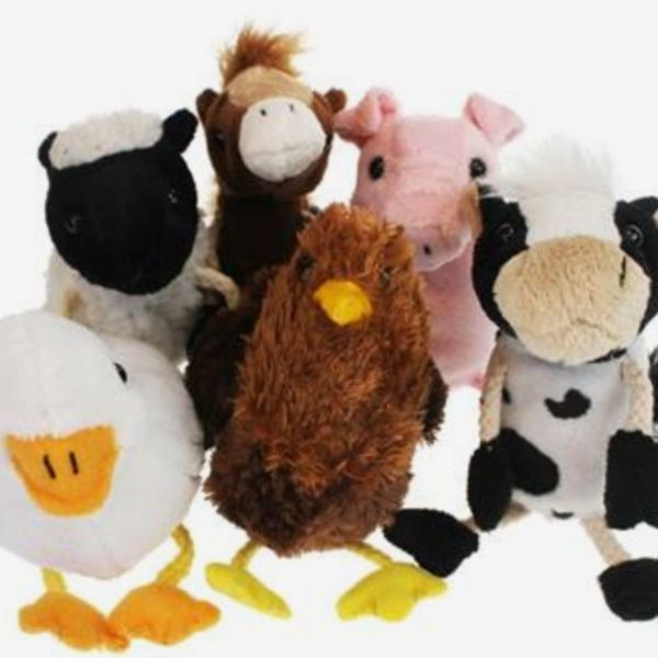 The Puppet Company Farm Animals Finger Puppets Set