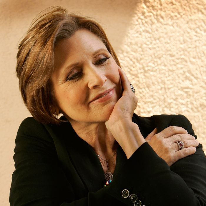 Century City, CA. Actress & author Carrie Fisher will be one of the judges on Fox's reality competi