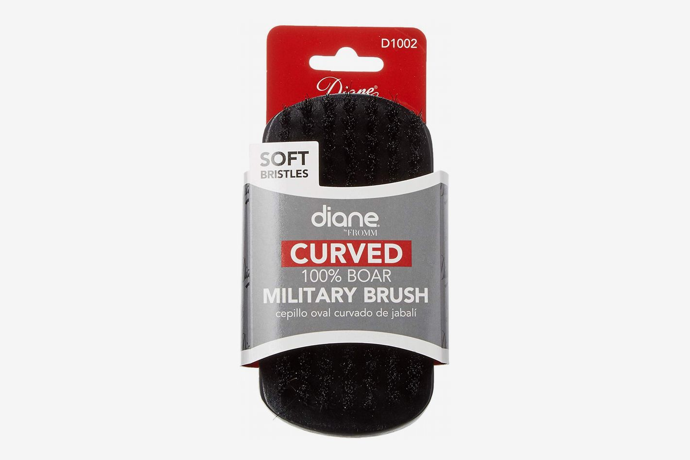 Diane Fromm Curved 100% Boar Military Brush Soft Bristles