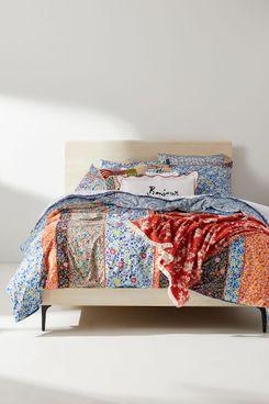 Anthropologie Miriam Organic Cotton Duvet Cover (Queen)