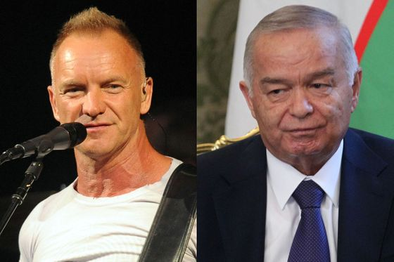 "<b>Criminal ties: </b>In 2009, Sting performed at a regime-celebrating festival put on by Gulnara Karimova, daughter of Uzbekistan's despotic President Islam Karimov, known for boiling his enemies alive. (Julio Iglesias, father of Enrique, was also implicated, and later criticized for performing for <a><u>Equatorial Guinea's corrupt </u><u>Teodorin Obiang</u></a>.) Tickets cost $1,000 (45 times the average Uzbek's monthly income, <a><i><u>Mother Jones</u></i><u> reported</u></a>), and Sting made $2 million. <b>Forgiven?</b> Not at all. Sting's explanation — he believes boycotts only further isolate dictator-ruled countries — prompted <a><u>Britain's ambassador to Uzbekistan </u></a>to wonder if he'd gone ""completely mad."" Uzbekistan got mad, too: <a><u>Sting's songs were banned from radio stations</u> a</a>fter he called Karimov a dictator."