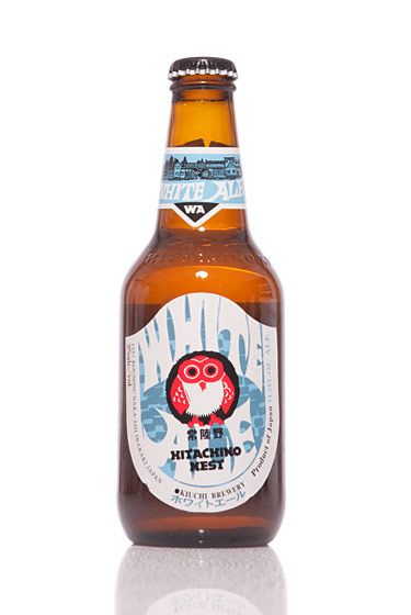 "Kiuchi Brewery (Japan)<br>$8 for 12 oz. <br><strong>Type:</strong> Belgian Witbier<br><strong>Tasting notes:</strong> ""This traditional Belgian-style white includes notes of nutmeg, coriander, and orange peel. Very crisp and refreshing."" <br>—Lindsay Leviton, manager, The Ginger Man<br>"