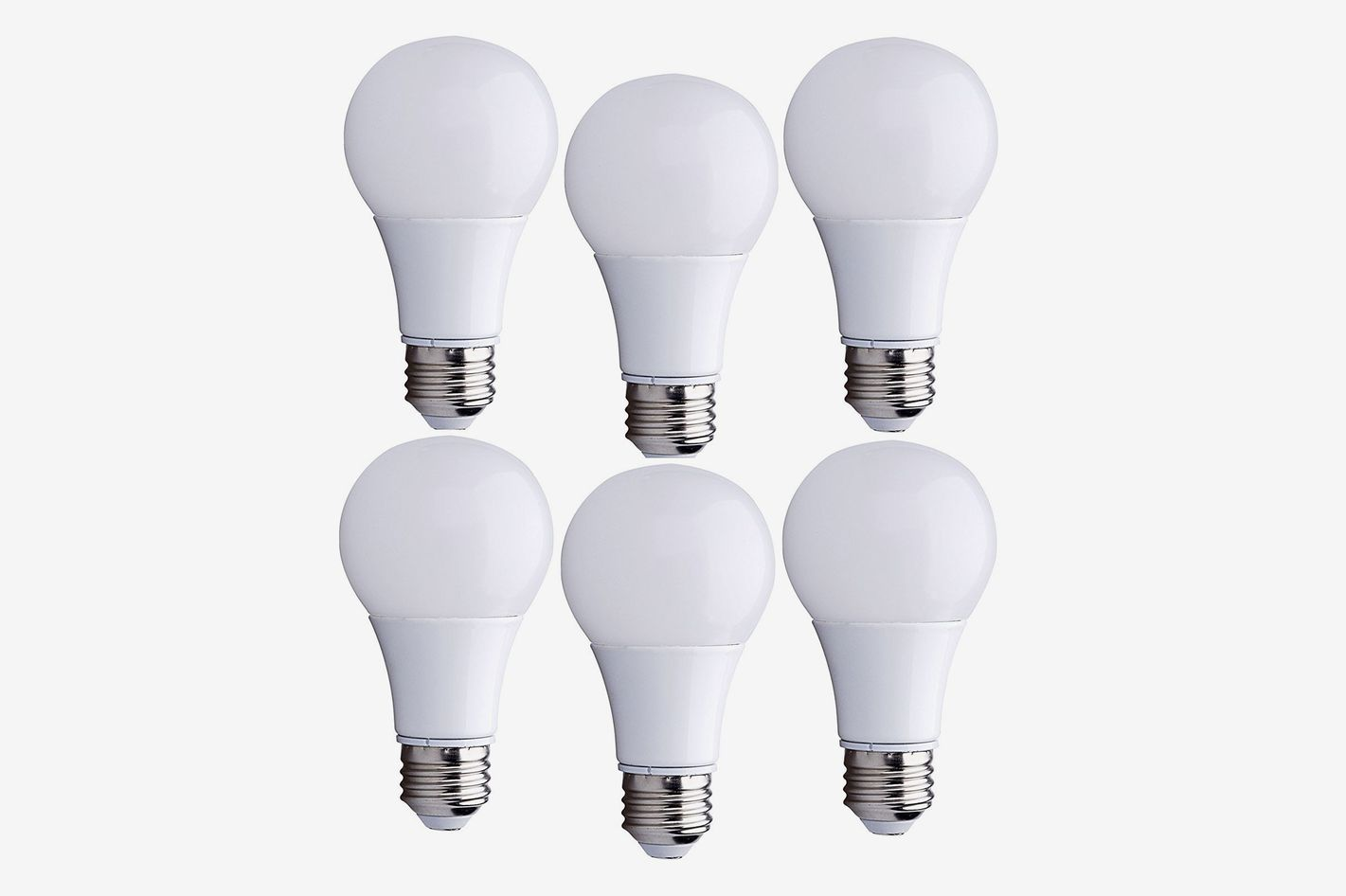 Bioluz LED 40 Watt LED Light Bulbs ECO Series Warm White 2700K (6 Pack)