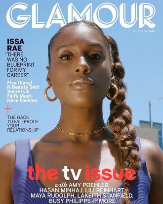 Glamour magazine.