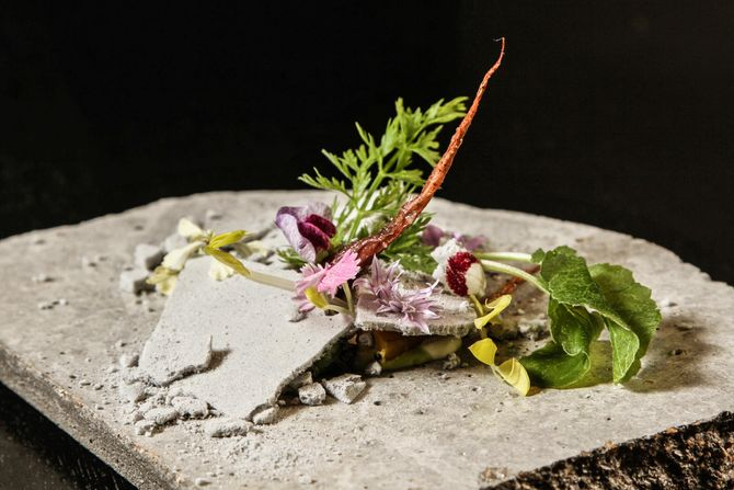 The most visually exciting dishes in america grub street for Alinea chef de cuisine