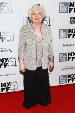 "NEW YORK, NY - OCTOBER 08:  Actress June Squibb attends the ""Nebraska"" premiere during the 51st New York Film Festival at Alice Tully Hall at Lincoln Center on October 8, 2013 in New York City.  (Photo by Astrid Stawiarz/Getty Images)"