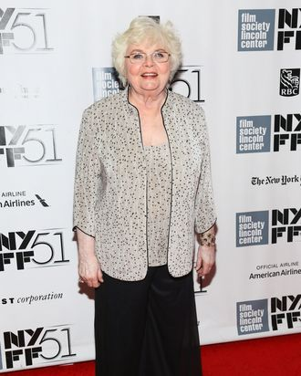 NEW YORK, NY - OCTOBER 08: Actress June Squibb attends the