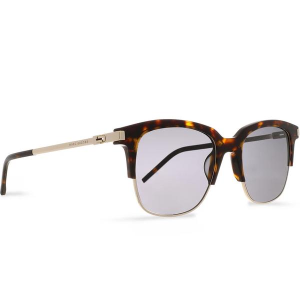 Marc Jacobs D-frame Tortoiseshell and Gold-tone Sunglasses