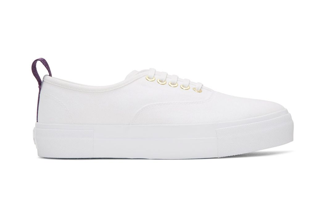 Eytys White Canvas Mother Sneakers