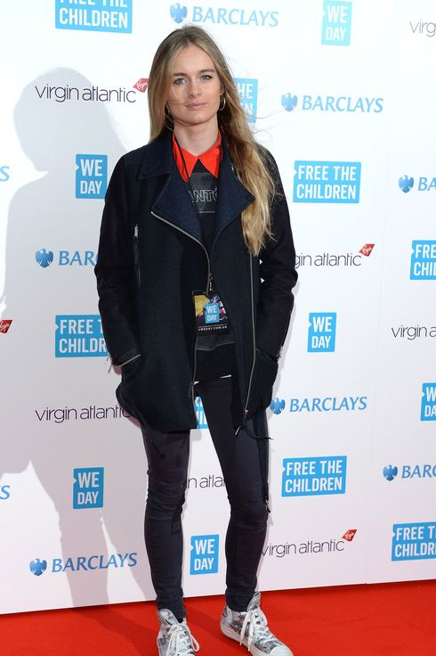 Cressida Bonas attends We Day UK, a charity event to bring young people together at Wembley Arena on March 7, 2014 in London, England.  (Photo by Karwai Tang/WireImage)