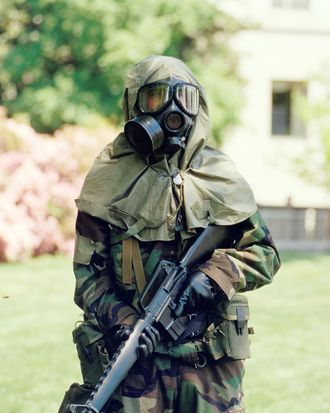 US Chemical Warfare Response team