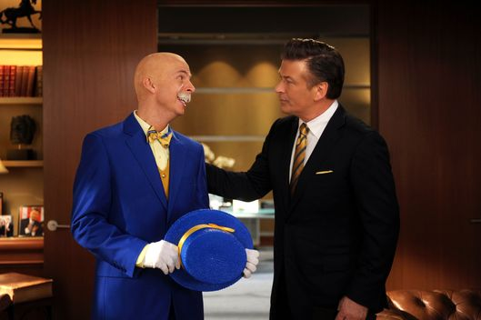 "30 ROCK -- ""Leap Day"" Episode 609 -- Pictured: (l-r) Jack McBrayer as Kenneth Parcell, Alec Baldwin as Jack Donaghy -- Photo by: (Ali Goldstein/NBC)"