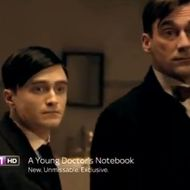 A Young Doctor S Notebook Trailer Jon Hamm Is Daniel Radcliffe