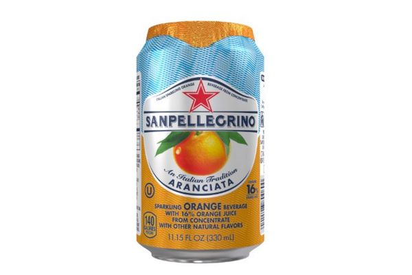 San Pellegrino Sparkling Beverages, Orange, Pack of 24