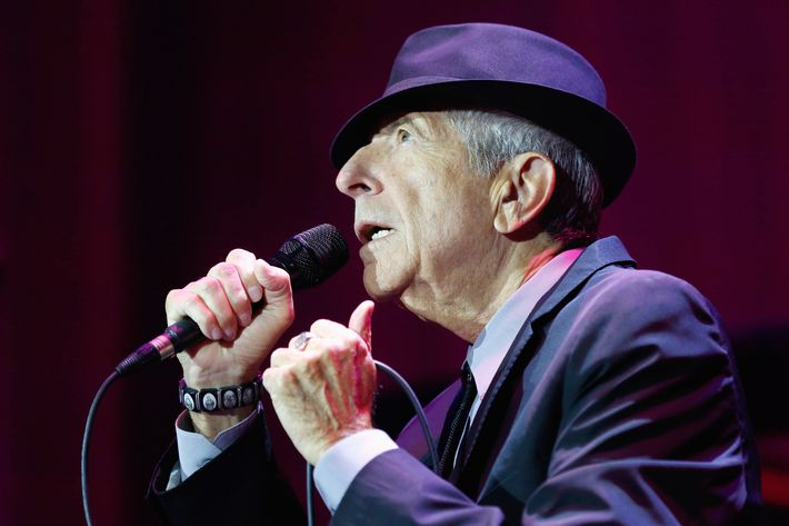 Leonard Cohen Performs At O2 Arena